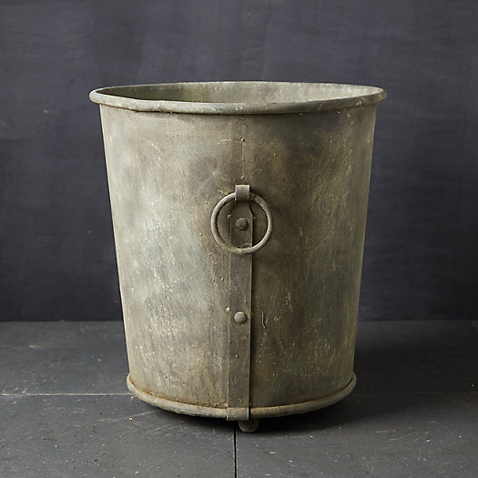 View larger image of Ring Handle Iron Planter