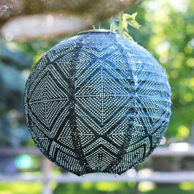 Geometric Lace Solar Lantern