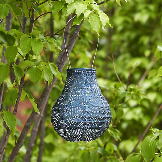 View larger image of Lace Drop Solar Lantern