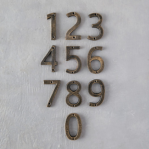 View larger image of Cast Iron Numeral