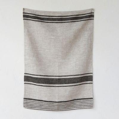 Linen Market Stripe Tea Towel