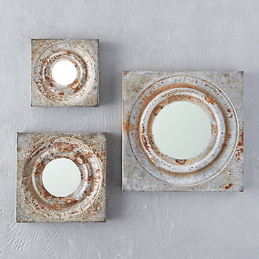 View larger image of Zinc Square Mirror