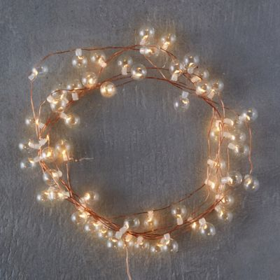 Stargazer Glass Bubble Lights, 40' Plug-In