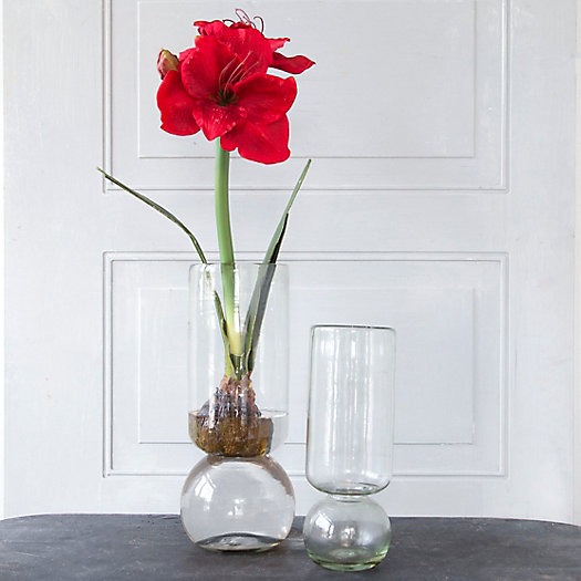 View larger image of Recycled Glass Bulb Vase