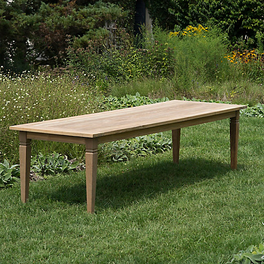 View larger image of Reclaimed Teak Dining Table, 10'