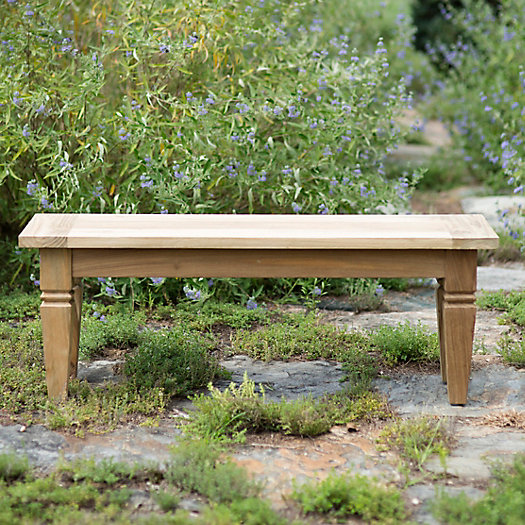 View larger image of Reclaimed Teak Dining Bench, 4'