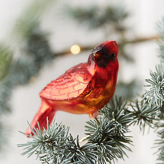 View larger image of Cardinal Glass Clip Ornament