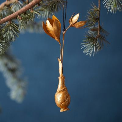 Golden Crocus Ornament