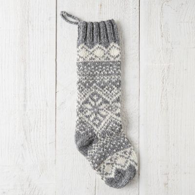 Woolen Fairisle Stocking