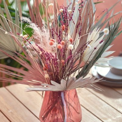 Shop the Look: A Tropical Centerpiece with Preserved Stems