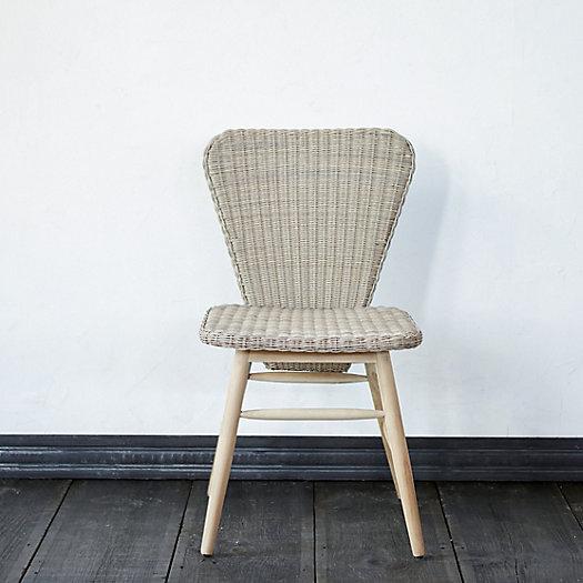 View larger image of Ridgeline Wicker + Teak Side Chair
