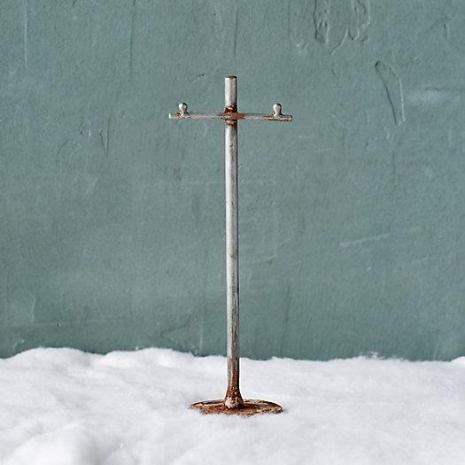 View larger image of Concordville Zinc Telephone Pole