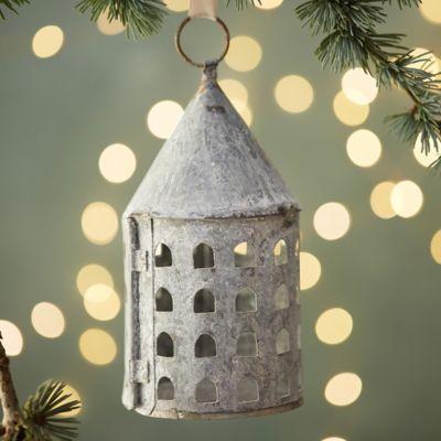 Zinc Silo Ornament