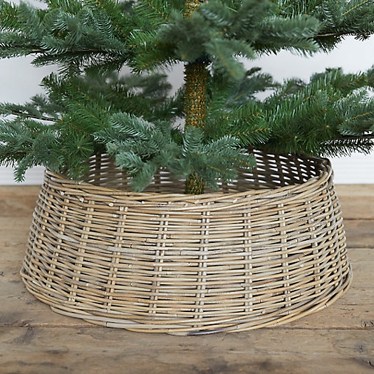 View larger image of Wicker Basket Tree Skirt