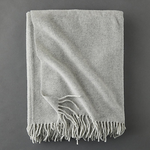 View larger image of Solid Merino Wool Throw