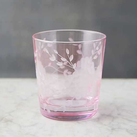 View larger image of Etched Blooms Tumbler