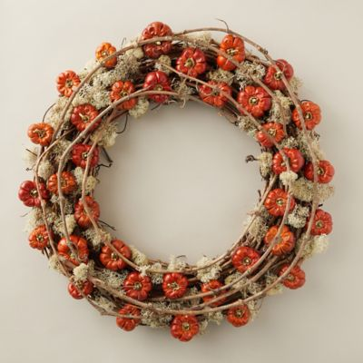 Pumpino & Moss Wreath