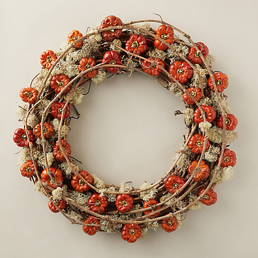 View larger image of Pumpino & Moss Wreath