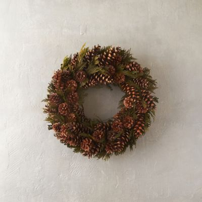 Cedar Cones Wreath