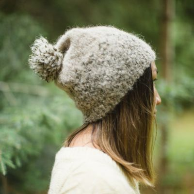 Ombre Alpaca Hat