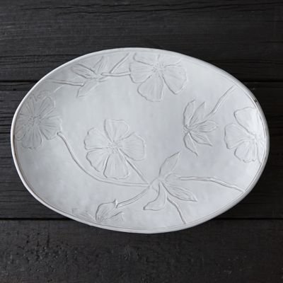 Pressed Meadow Serving Platter