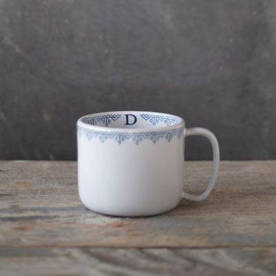 Nordic Monogram Mug