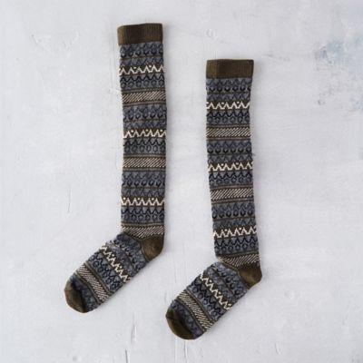 Women's Fair Isle Socks