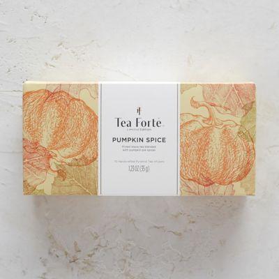 Tea Forte Pumpkin Spice Tea Bags