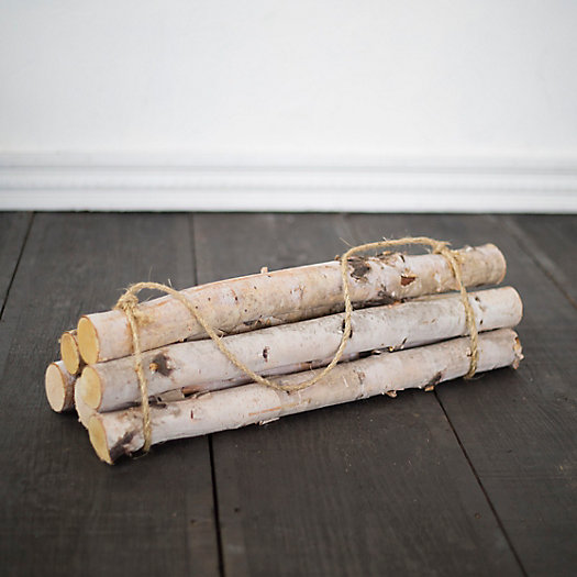 View larger image of Birch Log Bundle, Large