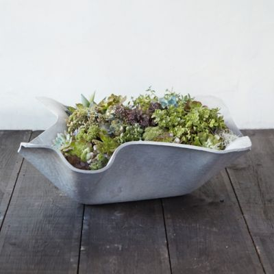 Fiber Waves Planter
