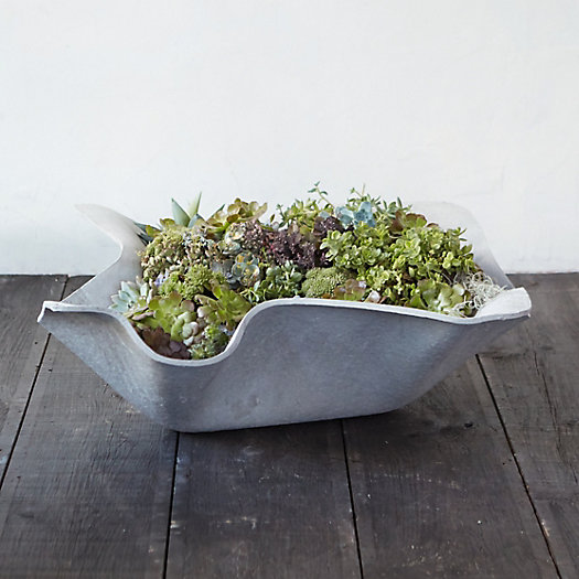 View larger image of Fiber Waves Planter