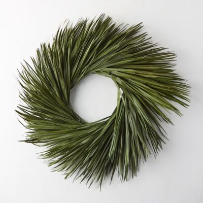 Preserved Palmetto Wreath
