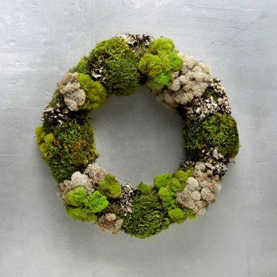 Mixed Moss Wreath