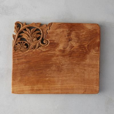 Carved Teak Serving Board