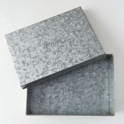 Embossed Iron Box