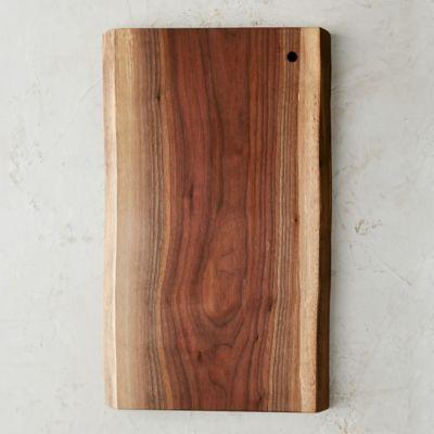 Live Edge Walnut Serving Board