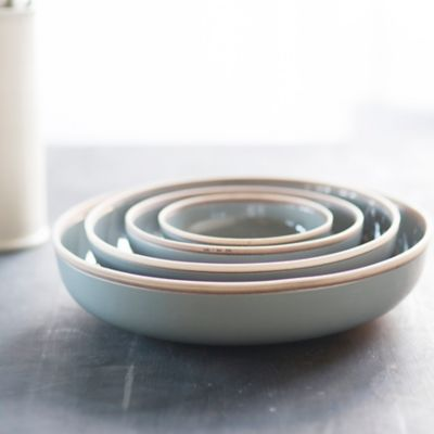 Raw Edge Porcelain Bowl