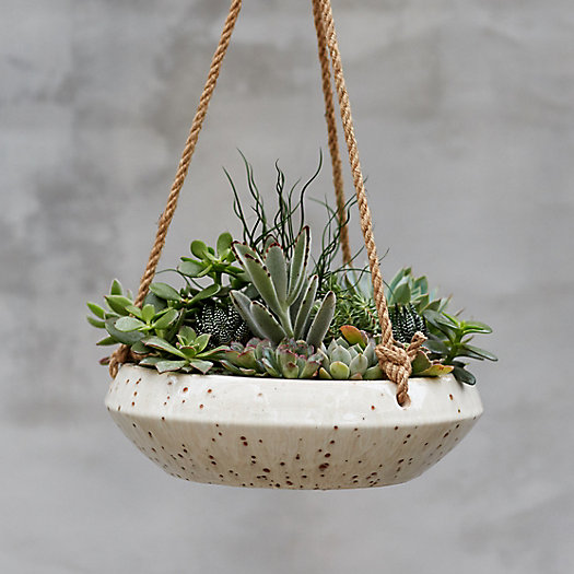 View larger image of Hanging Earthenware Bowl