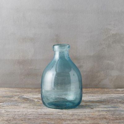 Bubble Glass Vase, Round