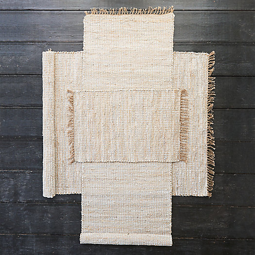 View larger image of Leather Weave Cotton Rug