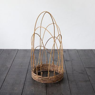 Woven Willow Cloche