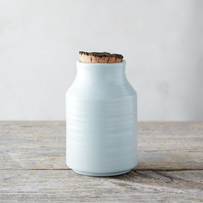 Ceramic Cork Top Storage Jar