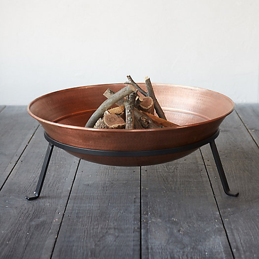 View larger image of Copper Dish Fire Pit