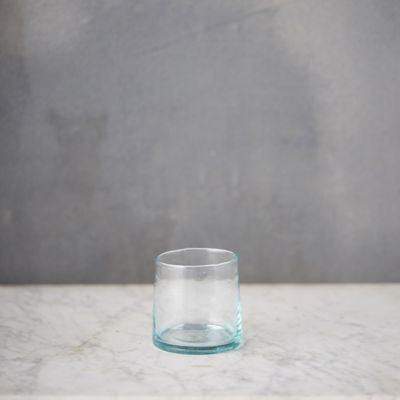 Moroccan Glass Wine Tumbler