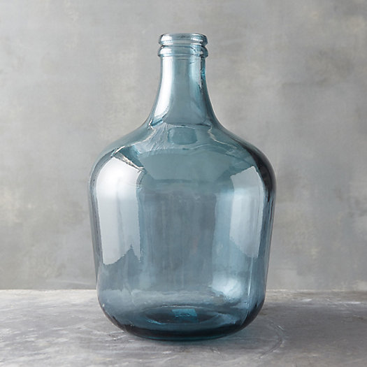 View larger image of Recycled Glass Bottleneck Vase