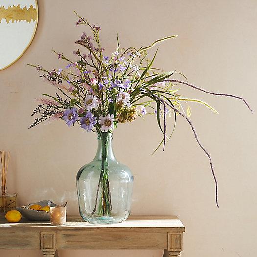 View larger image of Recycled Glass Bottleneck Vase