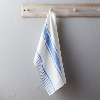 Lithuanian Linen Tea Towel, Market Stripe