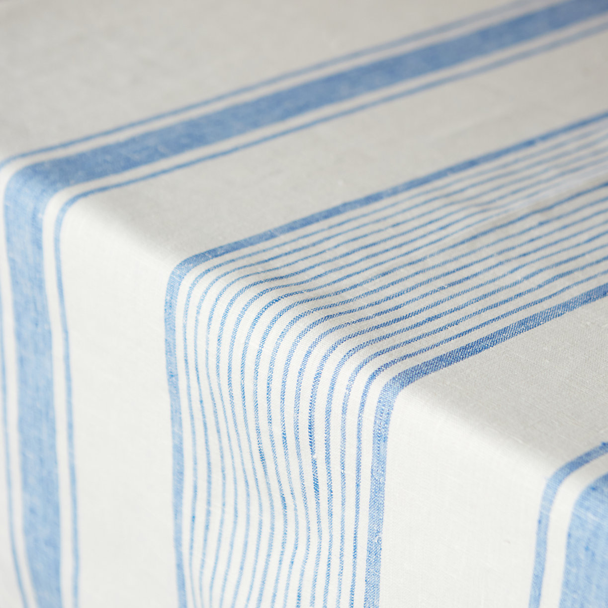 Lithuanian Linen Tablecloth, Market Stripe - Terrain