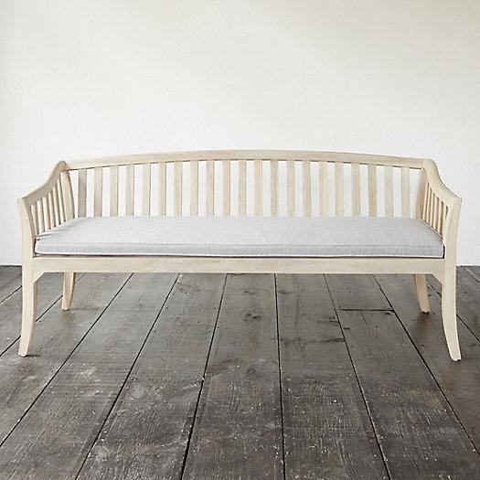 View larger image of Protected Teak Three Seat Garden Sofa