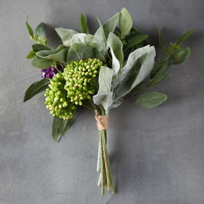 Spring Lilac Faux Bouquet